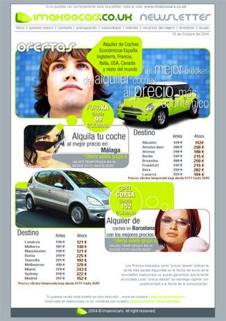 newsletter imakoo cars